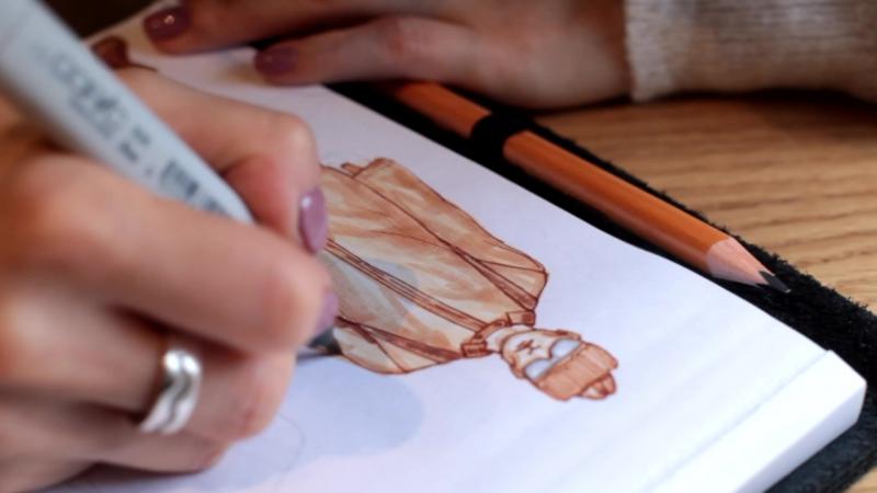 BLANK COVER: рисуем эскиз