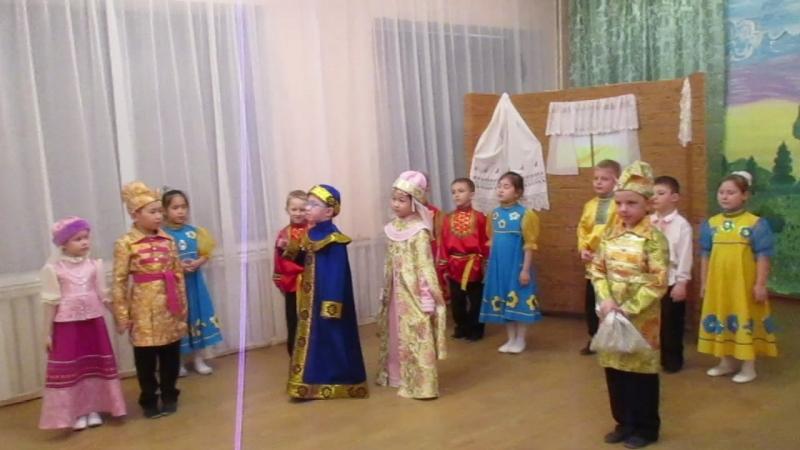 MVI_7866 Мюзикл Царевна-лягушка в БДОУ г. Омска Детский сад №1