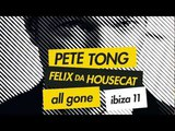 ALL GONE... IBIZA 2011 - PETE TONG &amp FELIX DA HOUSECAT (ALBUM SAMPLER MIX)