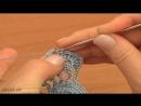 How To Crochet Pineapple Lace Tutorial 15 Крючком ленточное кружево