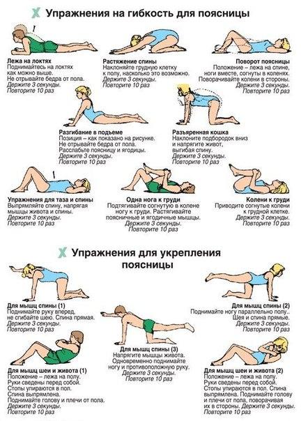 Укрепление мышц верхнего отдела позвоночника
