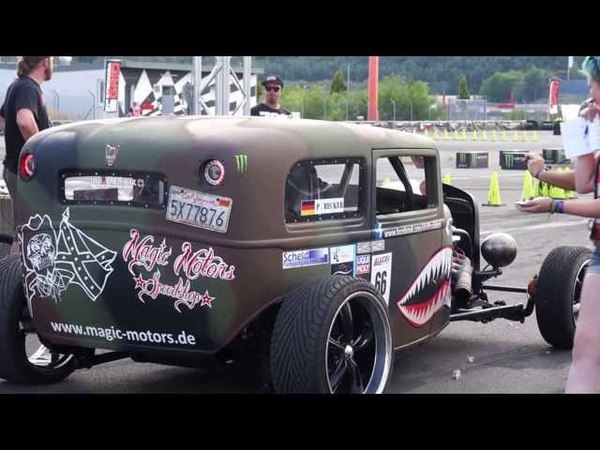 Sport1 Trackday 08.09.2013 Drift Gymkhana Magic Motors Hot Rod V8 Supercharged