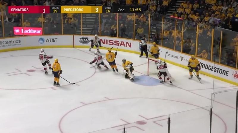 Ottawa Senators vs Nashville Predators – Feb. 19, 2018 _ Game Highlights _ NHL 2