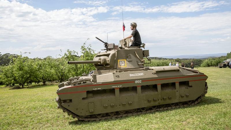 Загляни в реальный танк Матильда. Часть 4. В командирской рубке