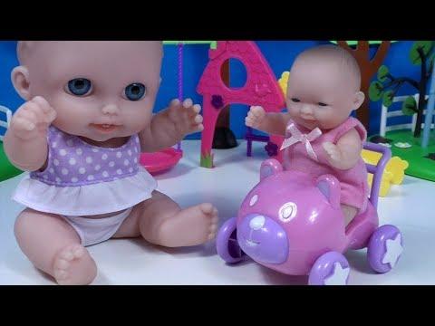 Baby Dolls BIG SMALL Игры в куклы Большая и Маленькая Пупсики для девочек ❤️ BLT TV