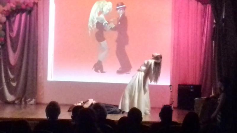 танец Ангел и Демон 10класс