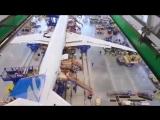 А Вы знаете как делают самолете Смотрите...Раз, два, три, #boeing787 живи!Видео прямиком с завода Boeing corp.