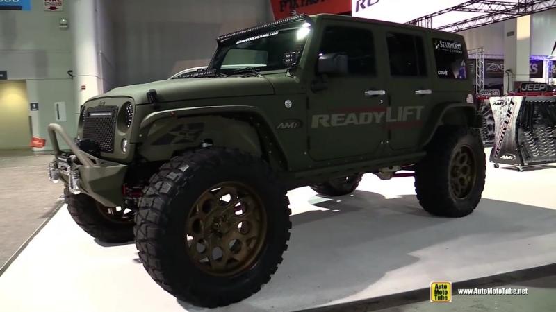 Jeep Wrangler Customized by Ready Lift - Exterior Walkaround -2016