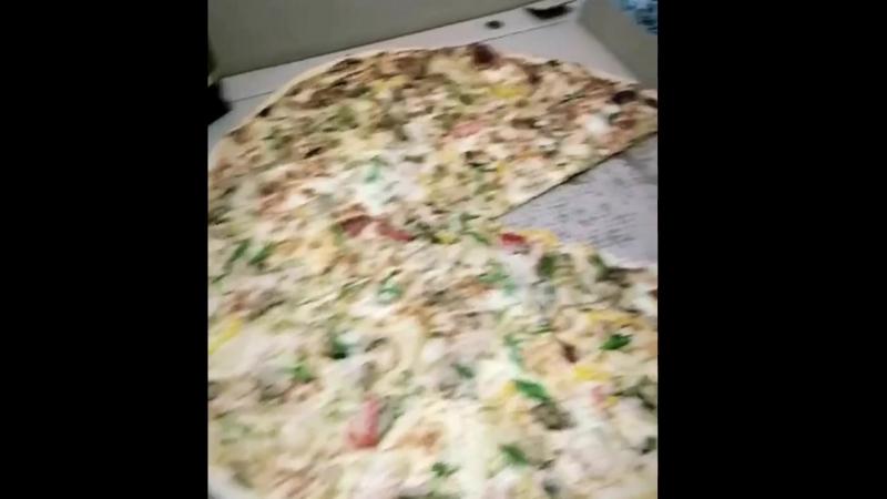 Самая большая пицца в Махачкале пицца 55см