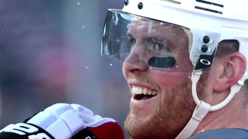 Bryan Bickell takes One More Shift for Hawks