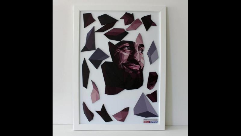 Спилс-портрет Адама Яндиева