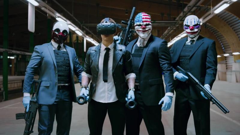 PAYDAY 2 VR (Ограбление по американски теперь и в виртуальной реальности)