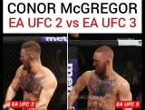 Чем отличается новая версия Конора МакГрегора от старой, в симуляторе EA UFC?