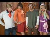Lily LaBeau, Bobbi Starr, Bree Olson - Scooby Doo XXX Parody All Sex, Hardcore, Blowjob, Gonzo, Anal, Lesbian