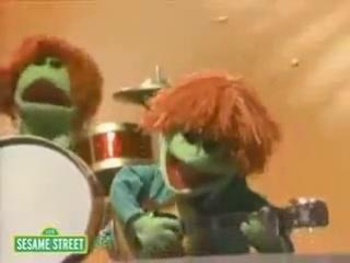 Sesame Street. The Beetles & Cookie Monster - Hey Food