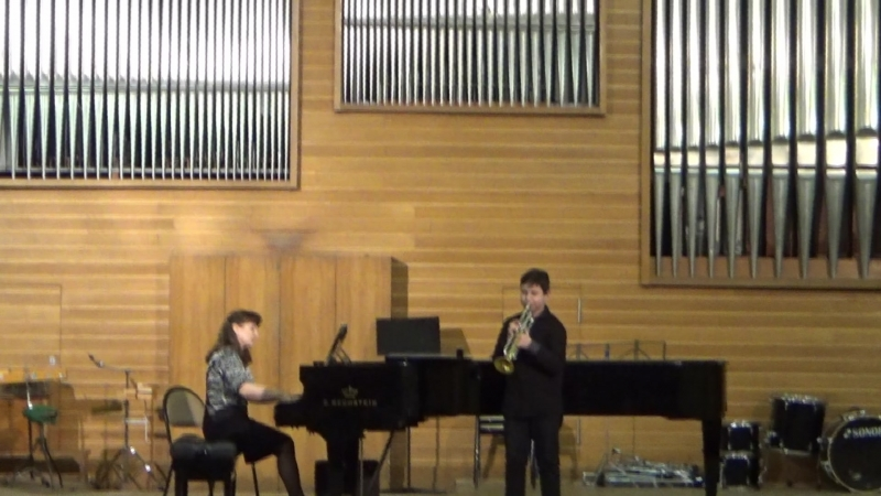 VI Межрегиональный конкурс исполнителей на духовых и ударных инструментах г. Новосибирск большой зал консерватории.
