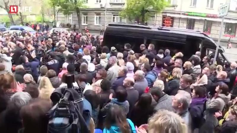 Прощание с актёром Дмитрием Марьяновым