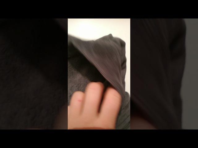 Бешеный стежок Серый турецкий халат