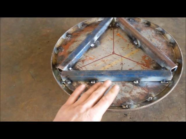 Пневмадомкрат из колеса Как сделать своими руками