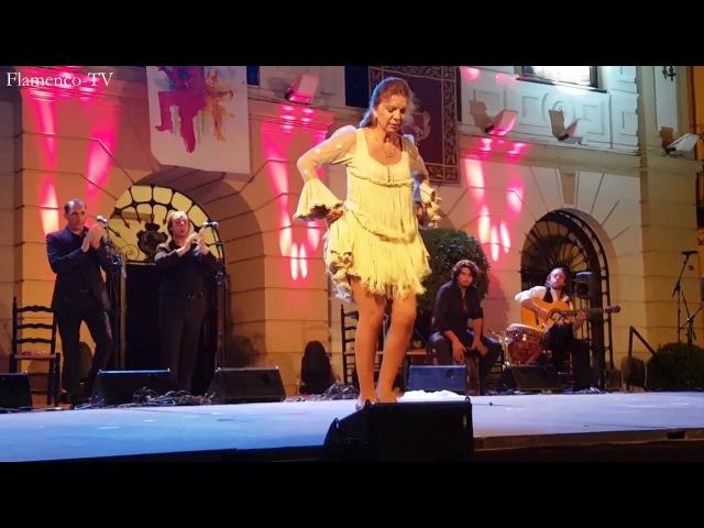 Juana Amaya - actuacion en el festival Gazpacho Andaluz 2017