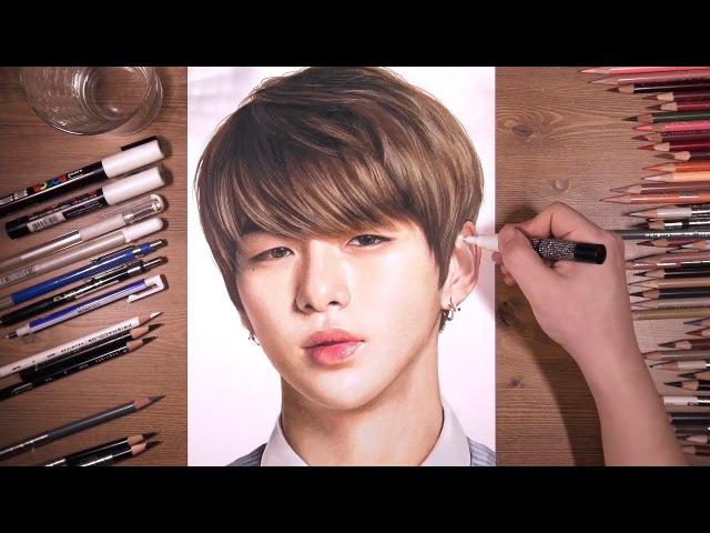 워너원 Wanna One: 강다니엘 Kang Daniel   drawholic