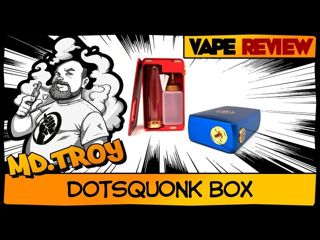 DOTSQUONK BOX by DOTMOD | есть вопросы