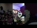 My mom, Wanda Freeman Cobb, singing Trouble of the World at the home going service for Aunt Shirley
