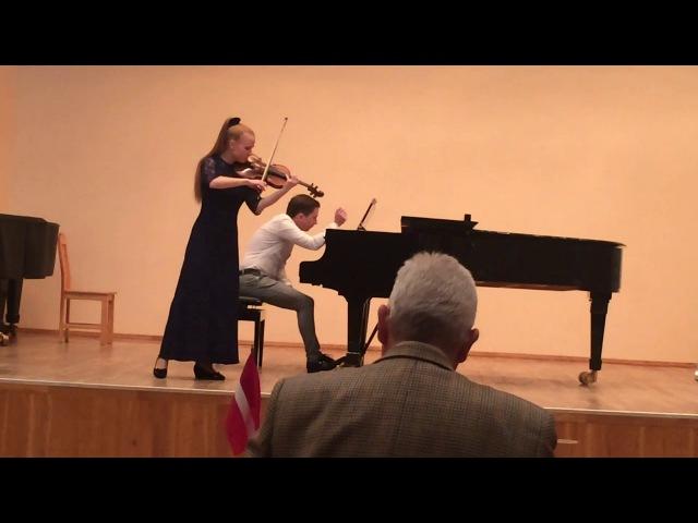 Баев Евг Фламенко исп Мария Муравьева скрипка