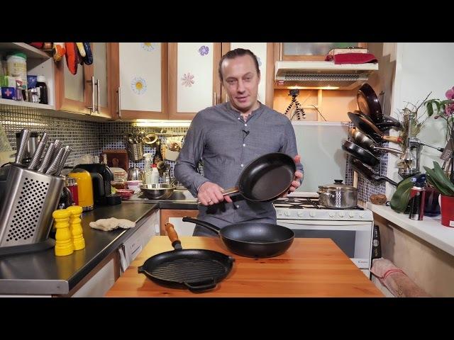 Какие сковородки лучше. Обзор сковородок. Как выбрать сковороду. » Freewka.com - Смотреть онлайн в хорощем качестве