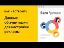 Яндекс Аудитории как использовать данные о клиентах для таргетинга рекламы