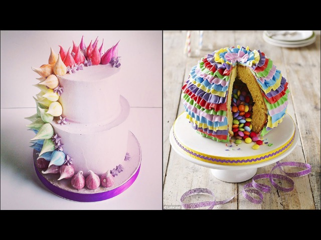 украшение тортов видео урок 1082 Top 15 Most Satisfying Cake Style Video Cake Style 2017 Amazing Cakes Decorating Techniques 2017 смотреть онлайн без регистрации