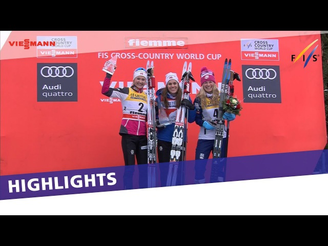 Heidi Weng successfully defends her Tour de Ski title on Alpe Cermis | Highlights