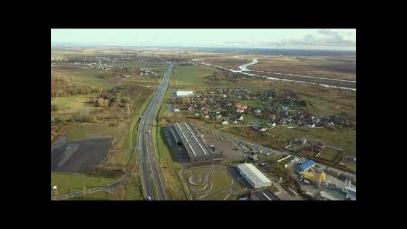 Завод Grunwald с высоты птичьего полёта
