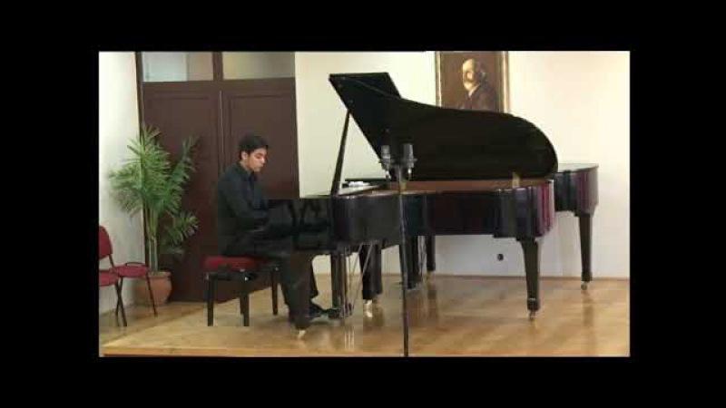 Teymur Hanifayev plays Chopin waltz Op64 No2