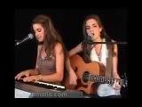 Сёстры круто поют под гитару Рианну
