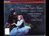 Britten A Midsummer Night's Dream