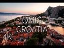 Omiš in 4K Croatia