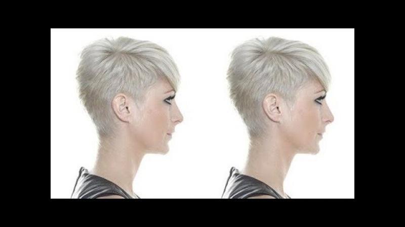 How To Cut Pixie Short - Pixie Haircut Tutorial - Creative Pixie haircut - Hairbrained