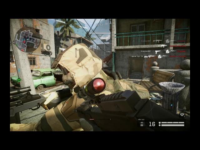 Warface Миссия Вне Досягаемости Сложность (СлоЖно) Играем Снайпером Прохождение под музыку