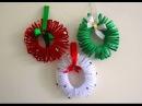 Easy Christmas Wreath Tutorial ~ DIY Christmas Room Decor ~ X'mas Decor Ideas with Paper