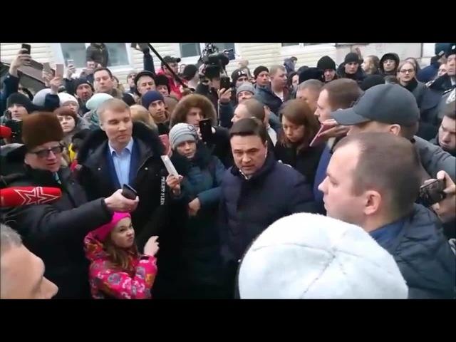 Девочка и губернатор Воробьев · coub коуб