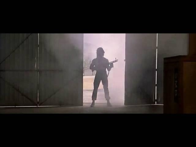 Рэмбо 2 : Сцена расстрела аппаратуры