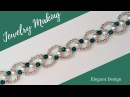🎄 Christmas Gift Ideas.🎅🏻 🎁 Beading bracelet(necklace)-How to make beautiful jewelry in 10 minutes