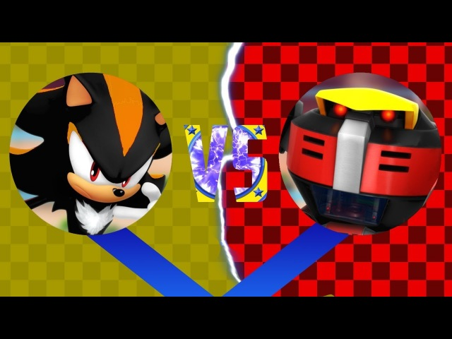 Sonic Epic Fights: Shadow Android VS E-123 Omega (pivot sprite battle)