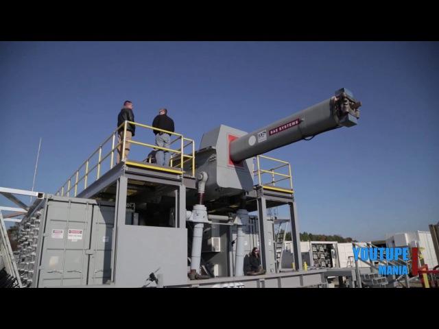 Breaking News - Electromagnetic Railgun Sucessfully Fires Multi-Short Salvos
