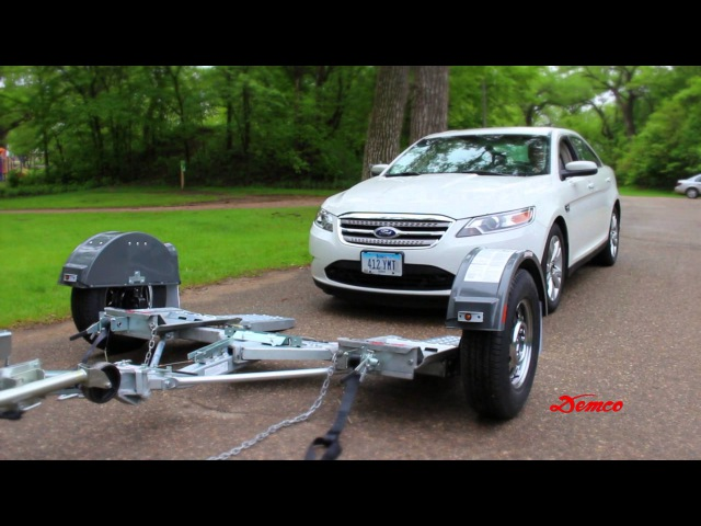 Loading a Tow Dolly