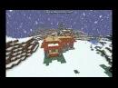 МАЙНКРАФТ строим дачу в зимнем биоме