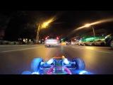 Driving a RC car at night in real car traffic ViralHog