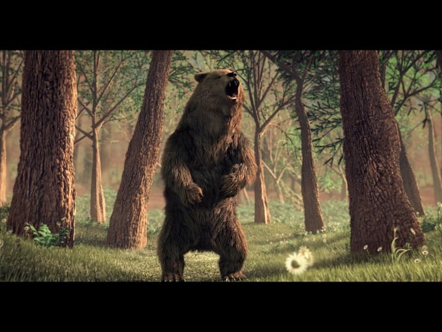 Breakdown of Bear's roar
