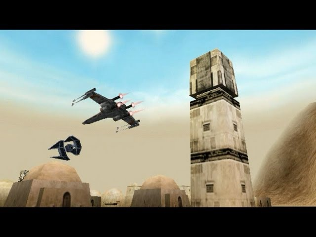 Star Wars Rogue Squadron mission 1 Ambush at Mos Eisley - gold medal » Freewka.com - Смотреть онлайн в хорощем качестве
